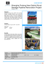 ZPS case history Shanghai Pudong RuralSewage cover