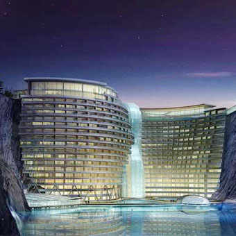 ZPS case history Intercontinental Shanghai Wonderland Hotel 1