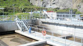 case history Zenit UNIQA for a cutting edge waste water treatment facility main