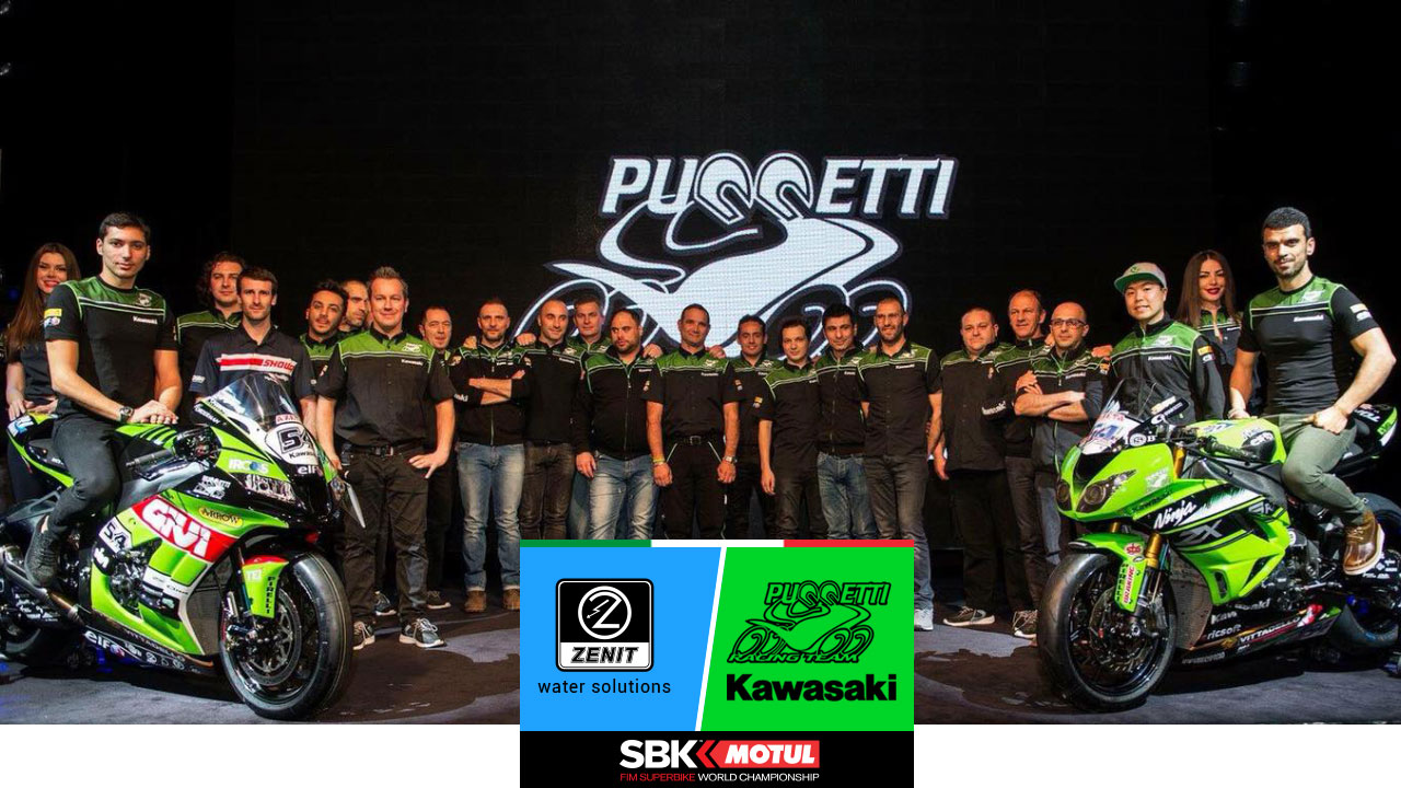 zenit group supports superbike team puccetti 2018