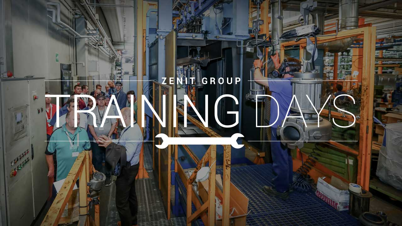 zenit group training days