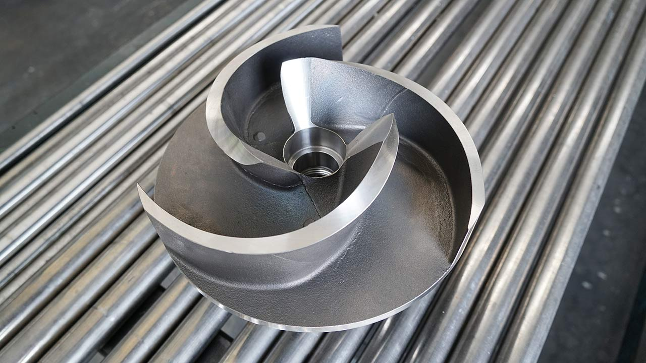 zenit hard cast iron chopper impeller