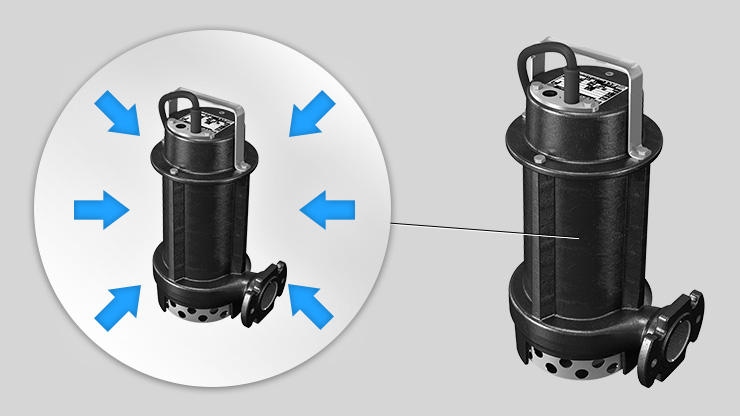 Zenit E S Series simple, compact electric submersible pump