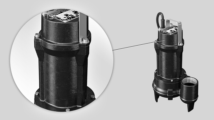 Zenit E Series electric submersible pump case