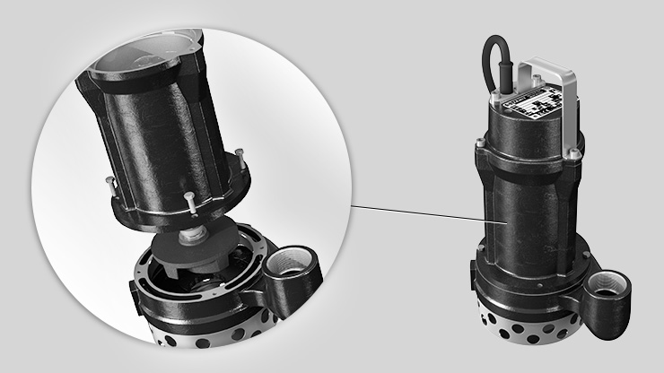 Zenit E Series electric submersible pump structure