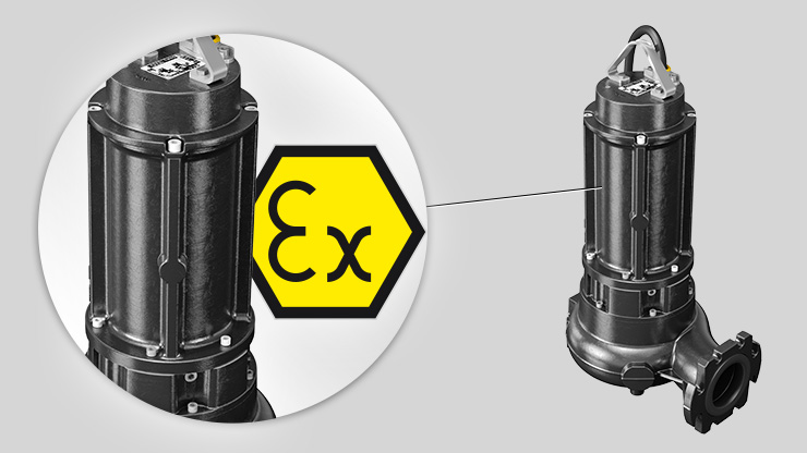 Zenit N Series electric submersible pump atex
