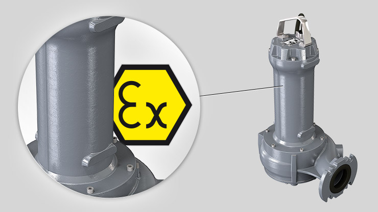 atex Grey Series electric submersible pump