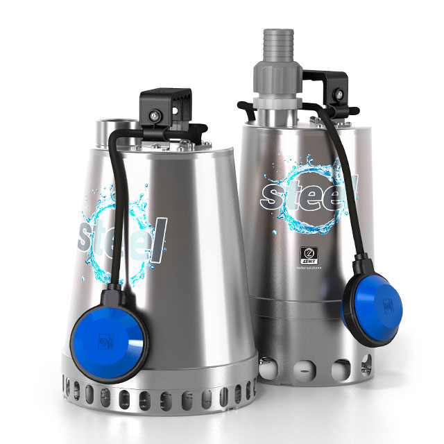 Zenit Steel Series electric submersible pumps