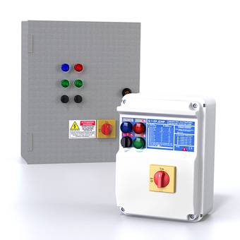 Zenit electric accessories electromechanical control panels
