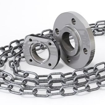 Zenit hydraulic accessories chains and flanges