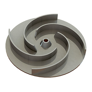 Zenit Steel DR electric submersible pump impeller