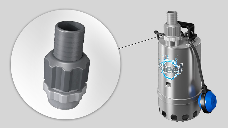 Zenit Steel Series electric submersible pump hose connector