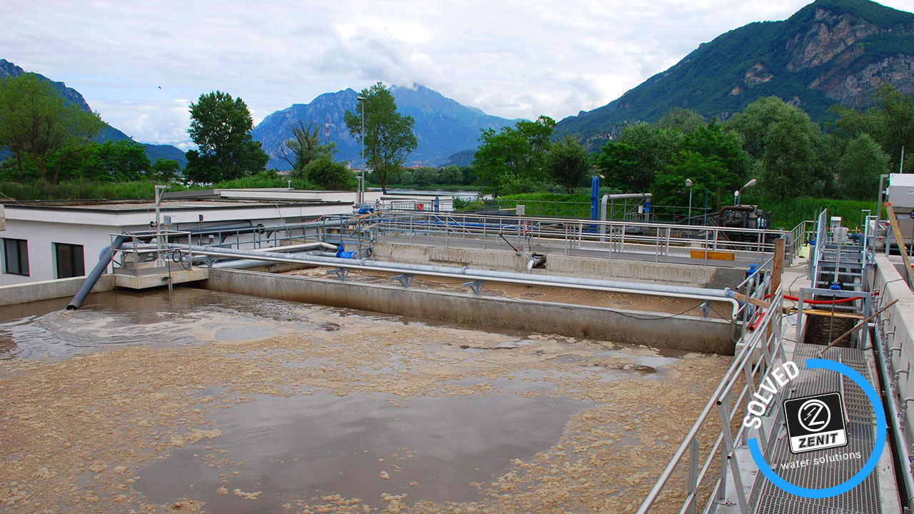Zenit Italy wastewater lifting reference Arzano Napoli