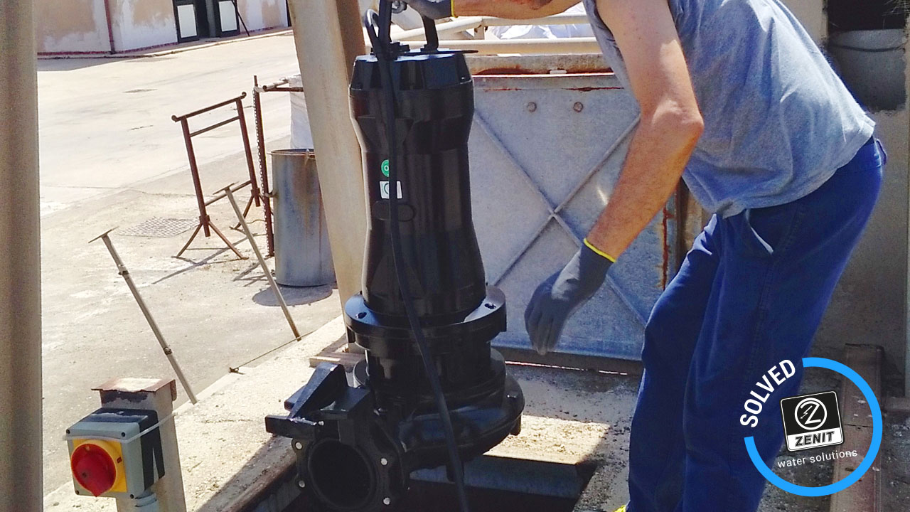 Zenit Italy wastewater lifting reference Gaeta Latina