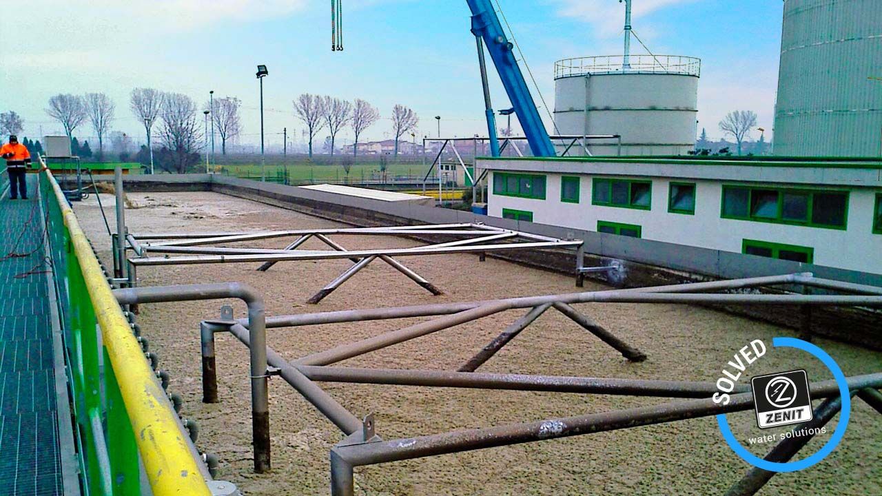 Zenit Italy wastewater treatment verziano