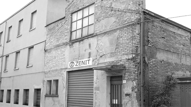 Zenit Group history 1950 first headquarters