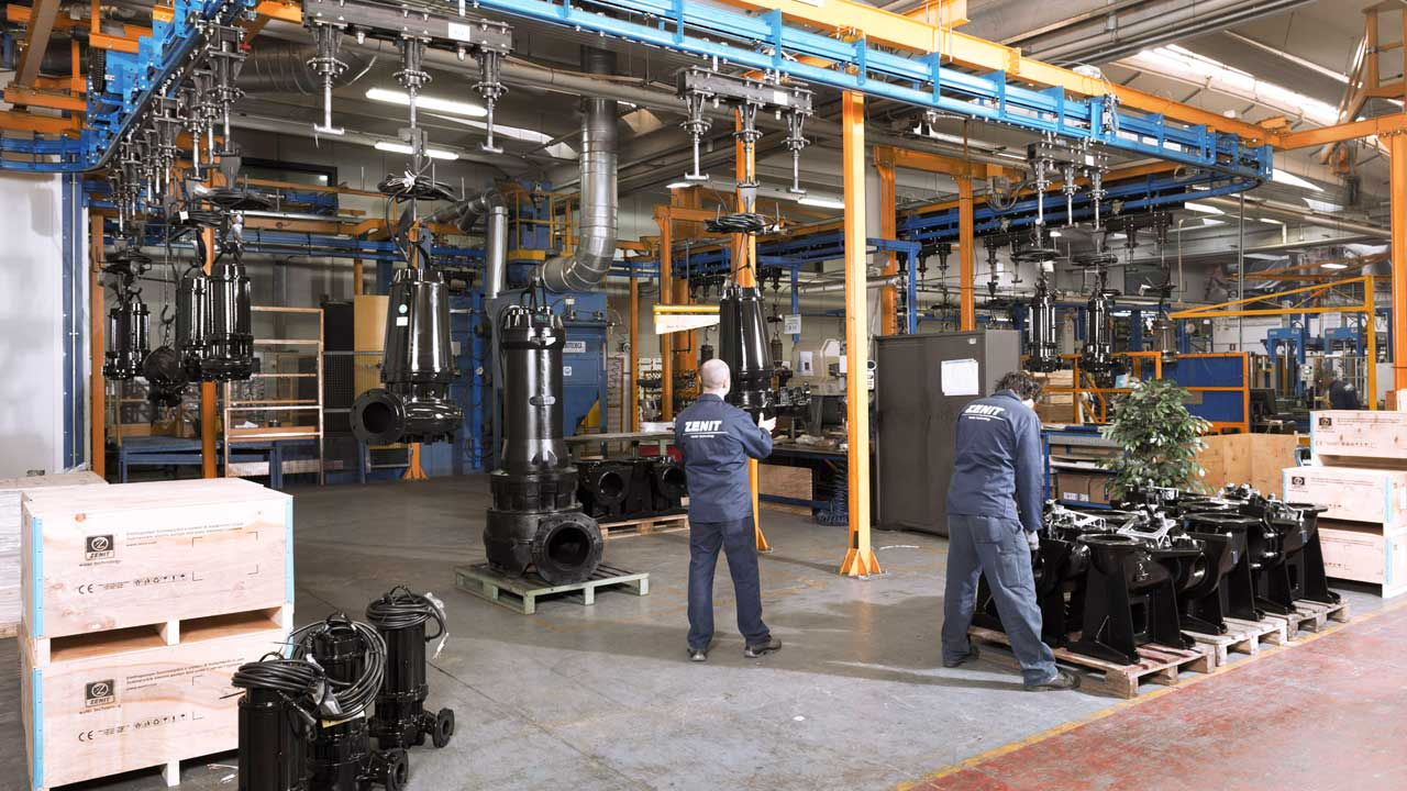 Zenit manufacturing plant Italy